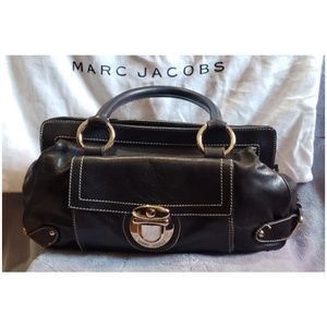 Marc Jacobs Calf Leather Buckle Bag